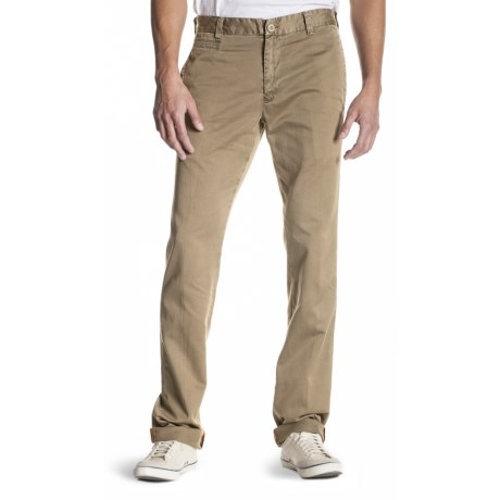 Agave Denim Papillon Chino Vintage Twill Flex Jeans - Classic Fit, Straight Leg (For Men) in Khaki