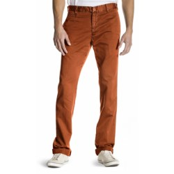 Agave Denim Papillon Chino Vintage Twill Flex Jeans - Classic Fit, Straight Leg (For Men) in Picante