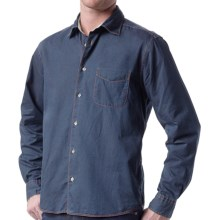 Agave Denim Perfecto Tailored Shirt - Long Sleeve (For Men) in Blue - Closeouts