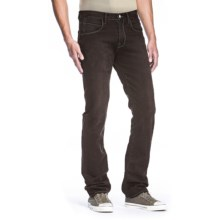 Agave Denim Pragmatist Beartrack Flex Jeans - Classic Fit, Straight Leg (For Men) in Brown - Closeouts