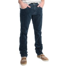 Agave Denim Pragmatist Bicolore Corduroy Pants - Classic Fit, Straight Leg (For Men) in Dark Blue - Closeouts