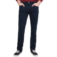 Agave Denim Pragmatist Cavalry Flex Twill Jeans - Classic Fit, Straight Leg (For Men) in Black Iris Navy - Closeouts