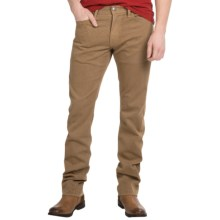 Agave Denim Pragmatist Cavalry Flex Twill Jeans - Classic Fit, Straight Leg (For Men) in Nomad/Tan - Closeouts