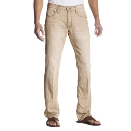 Agave Denim Pragmatist Flex Denim Jeans - Classic Fit, Straight Leg (For Men) in Khaki