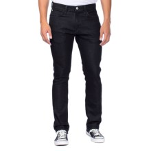 Agave Denim Pragmatist French Terry Classic Cut Jeans (For Men) in Black - Closeouts