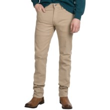 Agave Denim Pragmatist Glove Touch Flex Jeans - Classic Fit, Straight Leg (For Men) in Khaki Oxford Tan - Closeouts