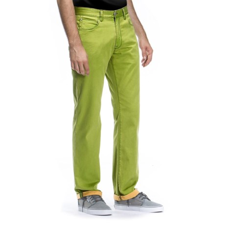 Agave Denim Pragmatist Hammonds Twill Flex Jeans - Classic Fit, Straight Leg (For Men) in Lime