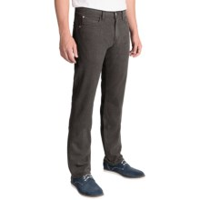Agave Denim Pragmatist Melange Flannel Pants - Classic Fit, Straight Leg (For Men) in Brown - Closeouts