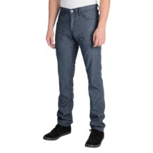 Agave Denim Pragmatist Melange Twill Pants - Classic Fit, Straight Leg (For Men) in Navy - Closeouts