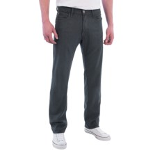 Agave Denim Pragmatist Ravenwood Flex Jeans - Classic Fit, Straight Leg (For Men) in Charcoal - Closeouts