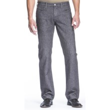 Agave Denim Pragmatist Wolf Canvas Jeans - Classic Fit, Straight Leg (For Men) in Black - Closeouts