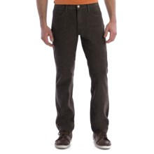 Agave Denim Pragmatist Wolf Jeans - Straight Fit (For Men) in Chocolate - Closeouts
