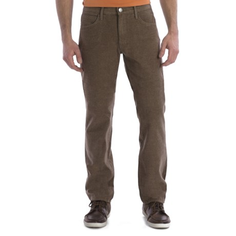 Agave Denim Pragmatist Wolf Jeans - Straight Fit (For Men) in Tan