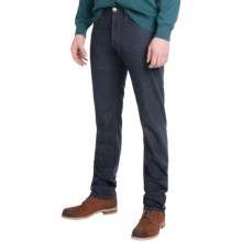 Agave Denim Pragmatist Wolf Twill Light Jeans - Classic Fit, Straight Leg (For Men) in Dark Blue - Closeouts