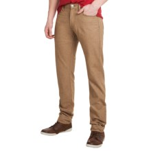 Agave Denim Pragmatist Wolf Twill Light Jeans - Classic Fit, Straight Leg (For Men) in Light Brown - Closeouts