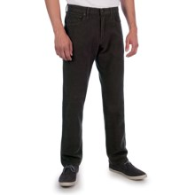 Agave Denim Rocker Pants - Italian Cotton Canvas (For Men) in Brown - Closeouts