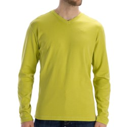 Agave Denim Swordfish Shirt - Supima® Cotton, Long Sleeve (For Men) in Citronelle