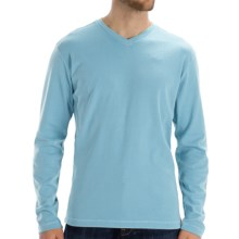 Agave Denim Swordfish Shirt - Supima® Cotton, Long Sleeve (For Men) in Petit Four - Closeouts