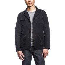 Agave Denim The Arc Jacket - Cotton Moleskin (For Men) in Navy - Closeouts