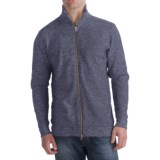 Agave Denim Tijunga Rib Shirt  - Zip Mock Neck, Long Sleeve (For Men)