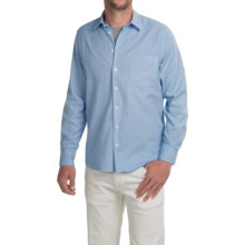 Agave Denim Tofino Shirt - Long Sleeve (For Men) in Cerulean - Closeouts