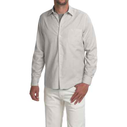 Agave Denim Tofino Shirt - Long Sleeve (For Men) in Nimbus Cloud - Closeouts