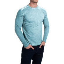 Agave Denim Victor Slub Shirt - Long Sleeve (For Men) in Adratic Blue - Closeouts