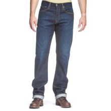 Agave Denim Waterman Dana Point Indigo Rinse Flex Jeans - Relaxed Fit, Straight Leg (For Men) in Indigo - Closeouts