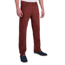 Agave Denim Waterman Glove Touch Flex Jeans - Relaxed Fit, Straight Leg (For Men) in Red Mahogany - Closeouts