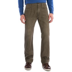 Agave Denim Waterman Moss N Sea Jeans - Relaxed Fit (For Men) in Moss