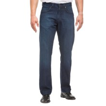 Agave Denim Waterman Sandspit Supima® Medium Jeans - Relaxed Fit, Straight Leg (For Men) in Supima Dark - Closeouts