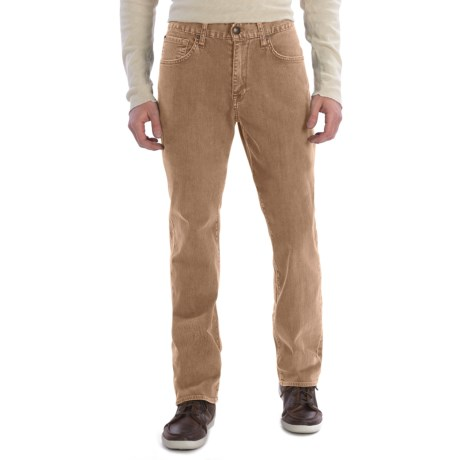 Agave Denim Waterman Santiago Jeans - Relaxed Fit (For Men) in Khaki