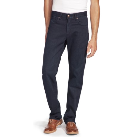 Agave Denim Waterman Triple Indigo Flex Jeans - Relaxed Fit (For Men) in Dark Indigo