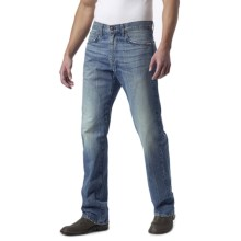 Agave Denim Waterman Zuma Vintage Jeans - Cotton, Relaxed Fit (For Men) in Light Indigo - Closeouts