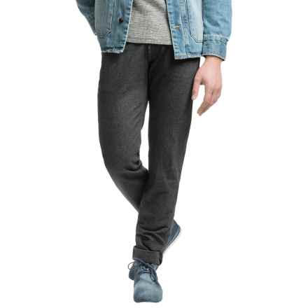 Agave Denim Wolf Twill Jeans - Classic Fit, Tapered Leg (For Men) in Dark Grey - Closeouts
