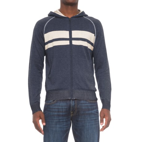 Agave Dorian Supima® Cotton Hoodie - Zip Front (For Men)