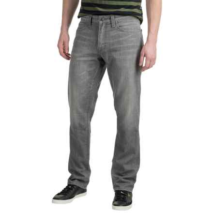 Agave Faded Jeans - Classic Fit (For Men) in Grey Oak Flex - Closeouts