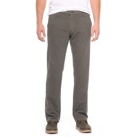 Agave Harp Slouch-Fit Pants (For Men) in Rosin