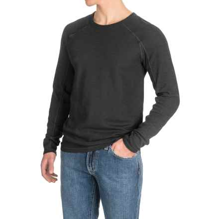 Agave Lookout Shirt - Long Sleeve (For Men) in Black (Agave) - Closeouts