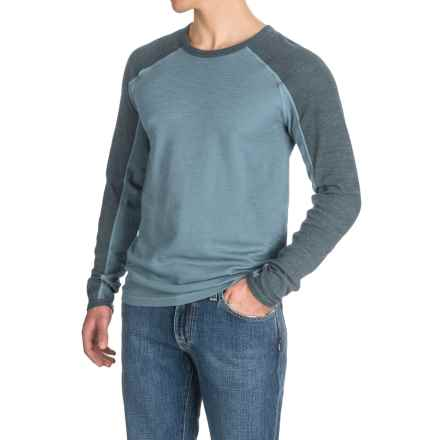 Agave Lookout Shirt - Long Sleeve (For Men) in China Blue (Agave) - Closeouts