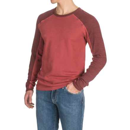 Agave Lookout Shirt - Long Sleeve (For Men) in Rosewood (Agave) - Closeouts