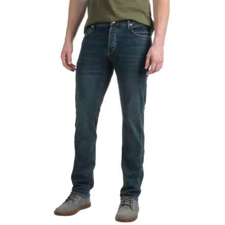 Agave Maverick Jeans - Slim Fit, Straight Leg (For Men) in Cascadia Vintage Flx - Closeouts