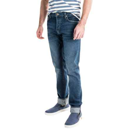 Agave Maverick Jeans - Slim Fit, Straight Leg (For Men) in Cone 13.0 Indigo Vin - Closeouts