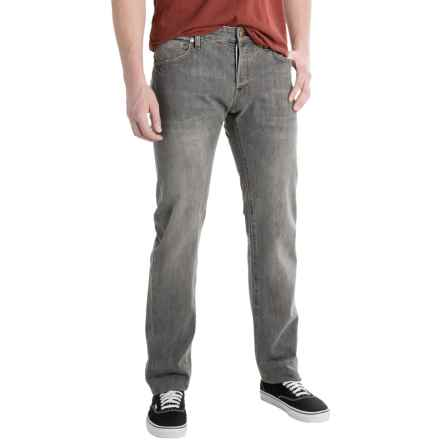 Agave Maverick Jeans - Slim Fit, Straight Leg (For Men) in Cone 13.25 Black Vin - Closeouts