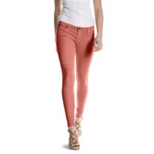 Agave Nectar Chica Fit De Amour Jeggings - Low Rise, Stretch (For Women) in Garnet Rose - Closeouts
