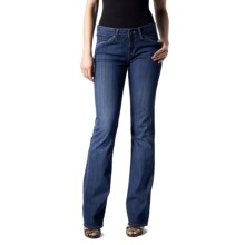 Agave Nectar Goddess Laurel Jeans - Stretch, Relaxed Fit, Boot Cut (For Women) in Medium Indigo - Closeouts