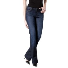 Agave Nectar Goddess Santa Clara Jeans - Stretch, Relaxed Fit, Bootcut (For Women) in Dark Indigo - Closeouts