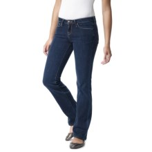 Agave Nectar Mariposa Classic Fit Jeans - Straight Leg, Low Rise (For Women) in Bizrritz 25 Stretch - Closeouts
