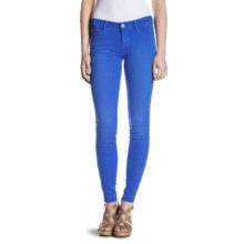 Agave Nectar Moda Mission Beach Jeggings - Low Rise (For Women) in Dazzling Blue - Closeouts