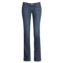 Agave Nectar Paraiso Denim Jeans - Slim Fit, Straight Leg (For Women) in Indigo - Closeouts